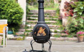 Fire Pits, Chimeneas, Fire Baskets