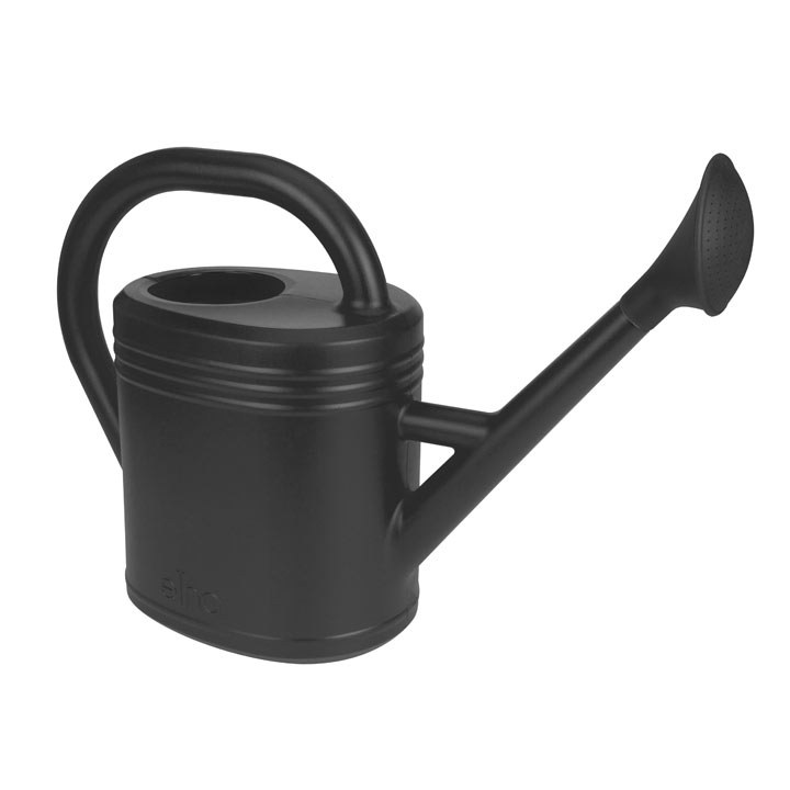 Image of Recycled Living Black Watering Can (10 Litre)