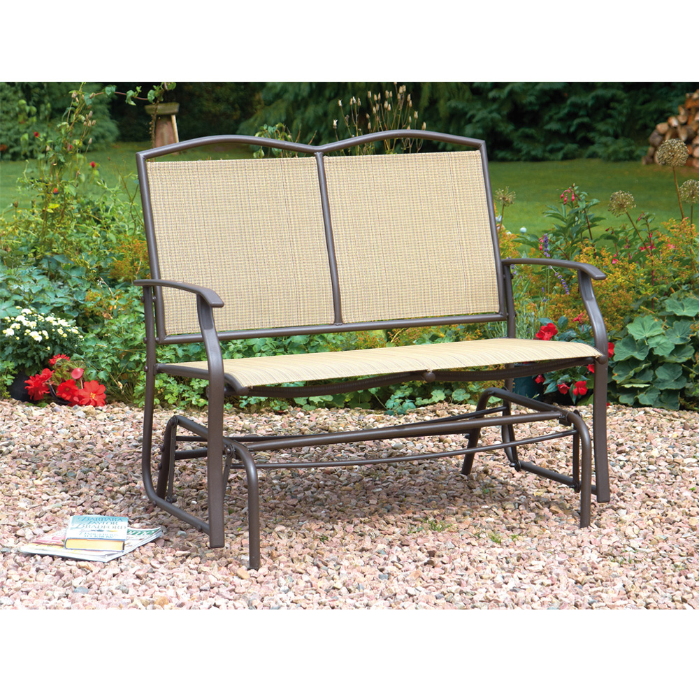 Image of 2-Seater Glider Bench