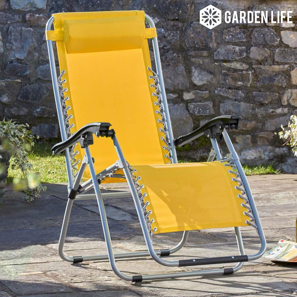 Image of Garden Gear Zero Gravity Chair - Sunburst