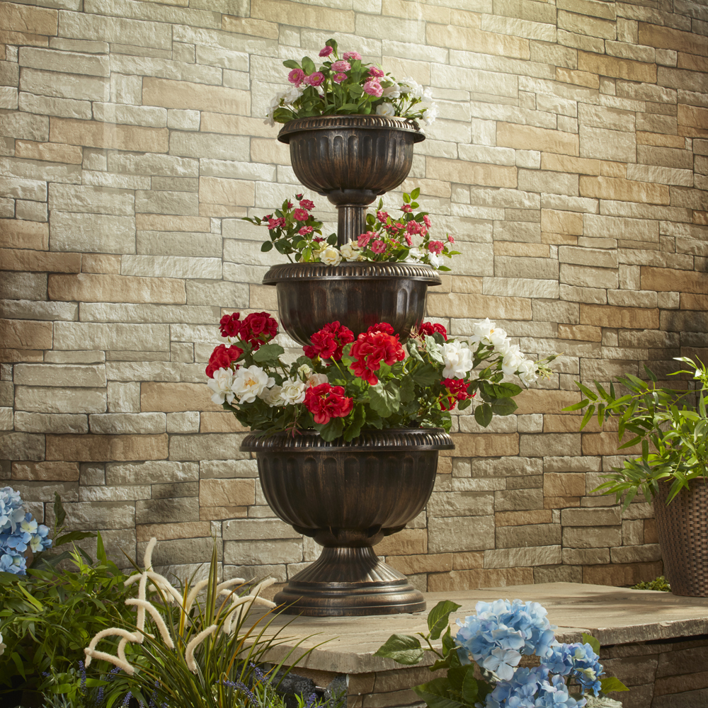Image of 3 Tiered Planter