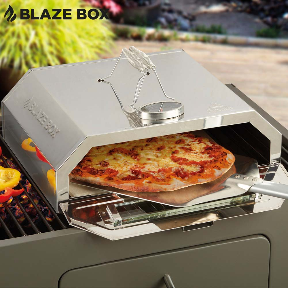Image of Blaze Box Pizza Oven with Paddle