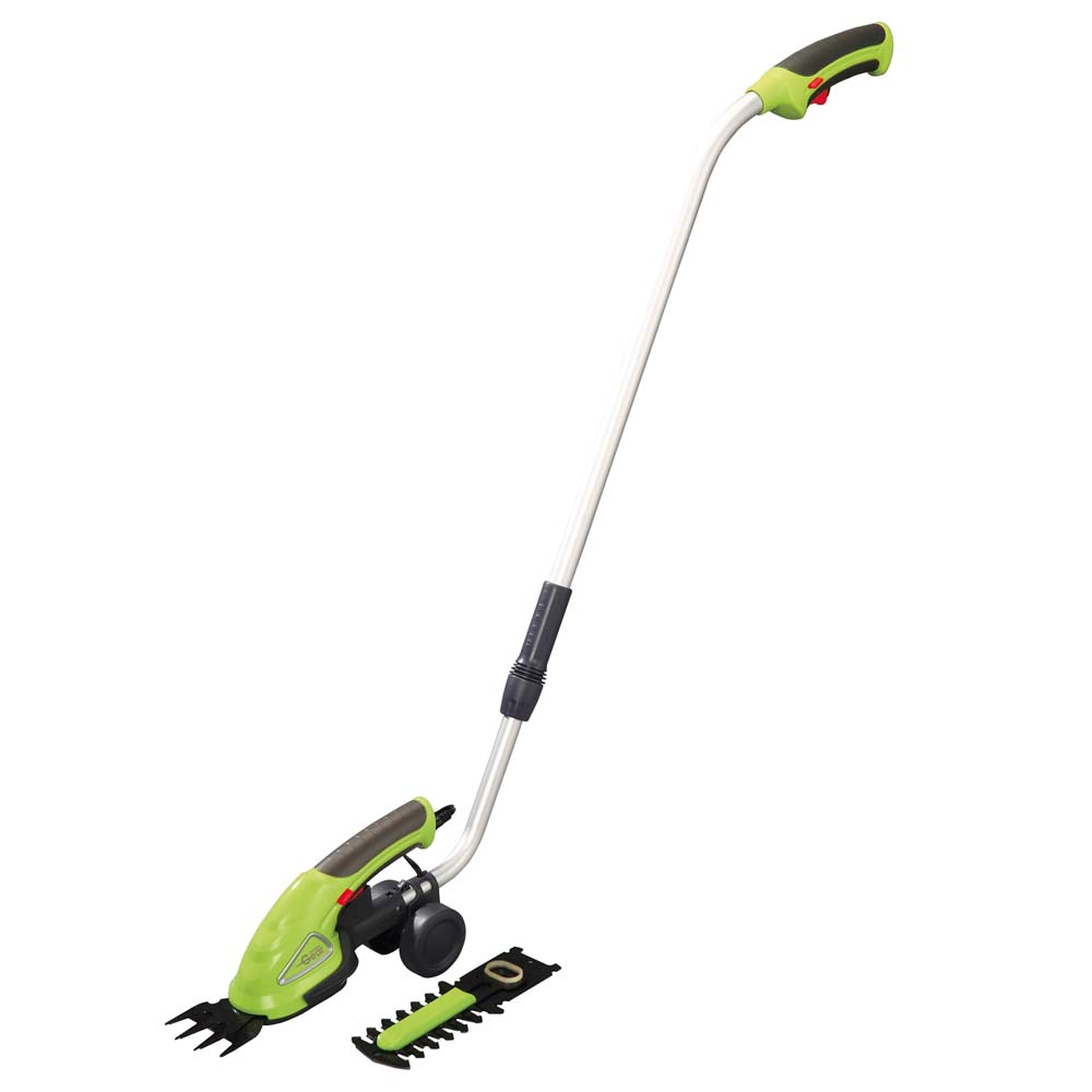 Image of Garden Gear 3.6V Cordless Lithium-ion Trimming Shears with extension handle