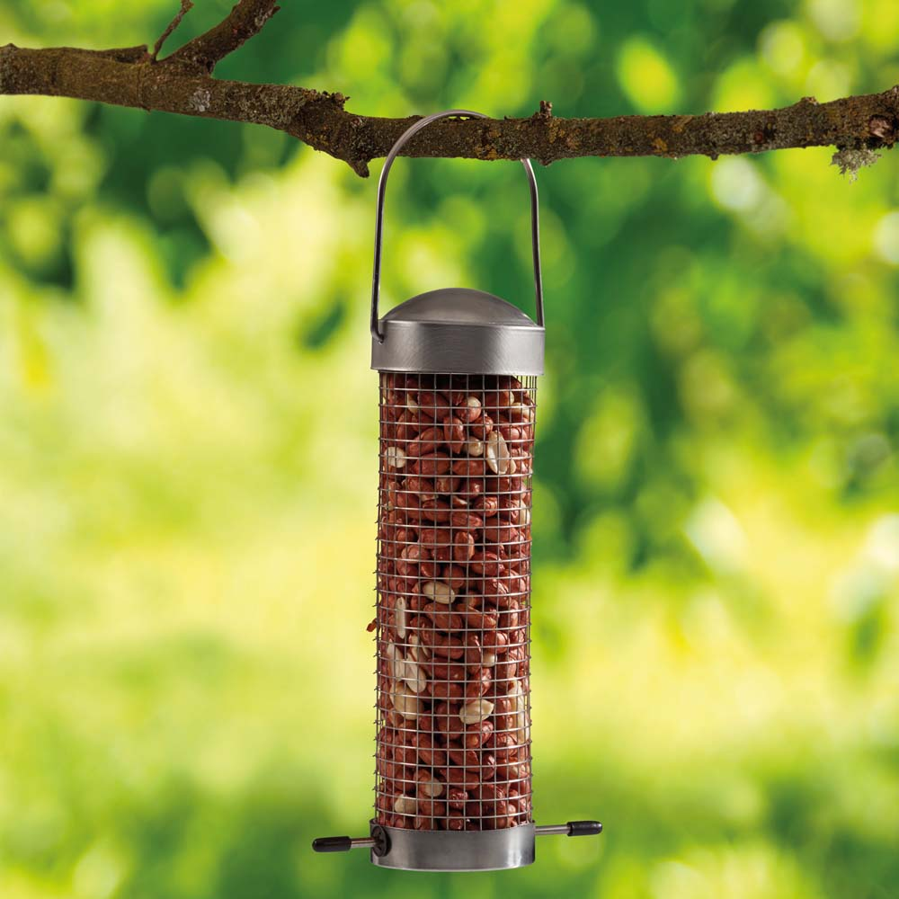 Image of Supa Small Domed Stainless Steel Nut Feeders