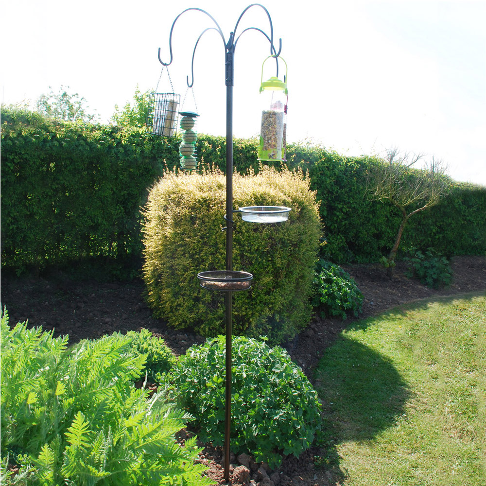 Image of Kingfisher Deluxe Bird Feeding Station with Feeders