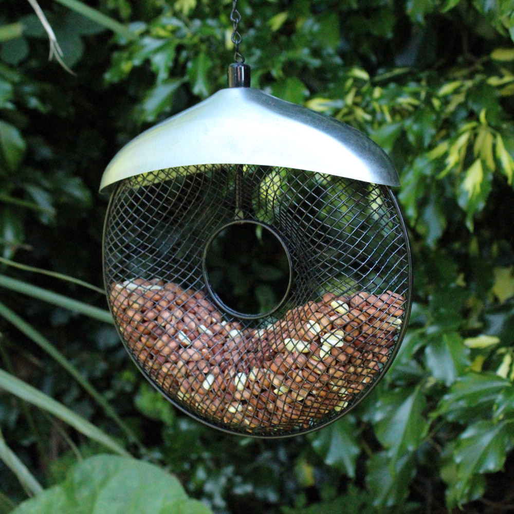Image of Kingfisher Deluxe Stainless Steel Donut Nut Feeder