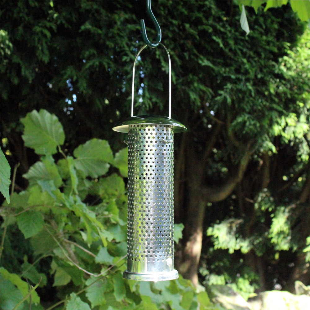 Image of Kingfisher Stainless Steel Niger Seed Feeder