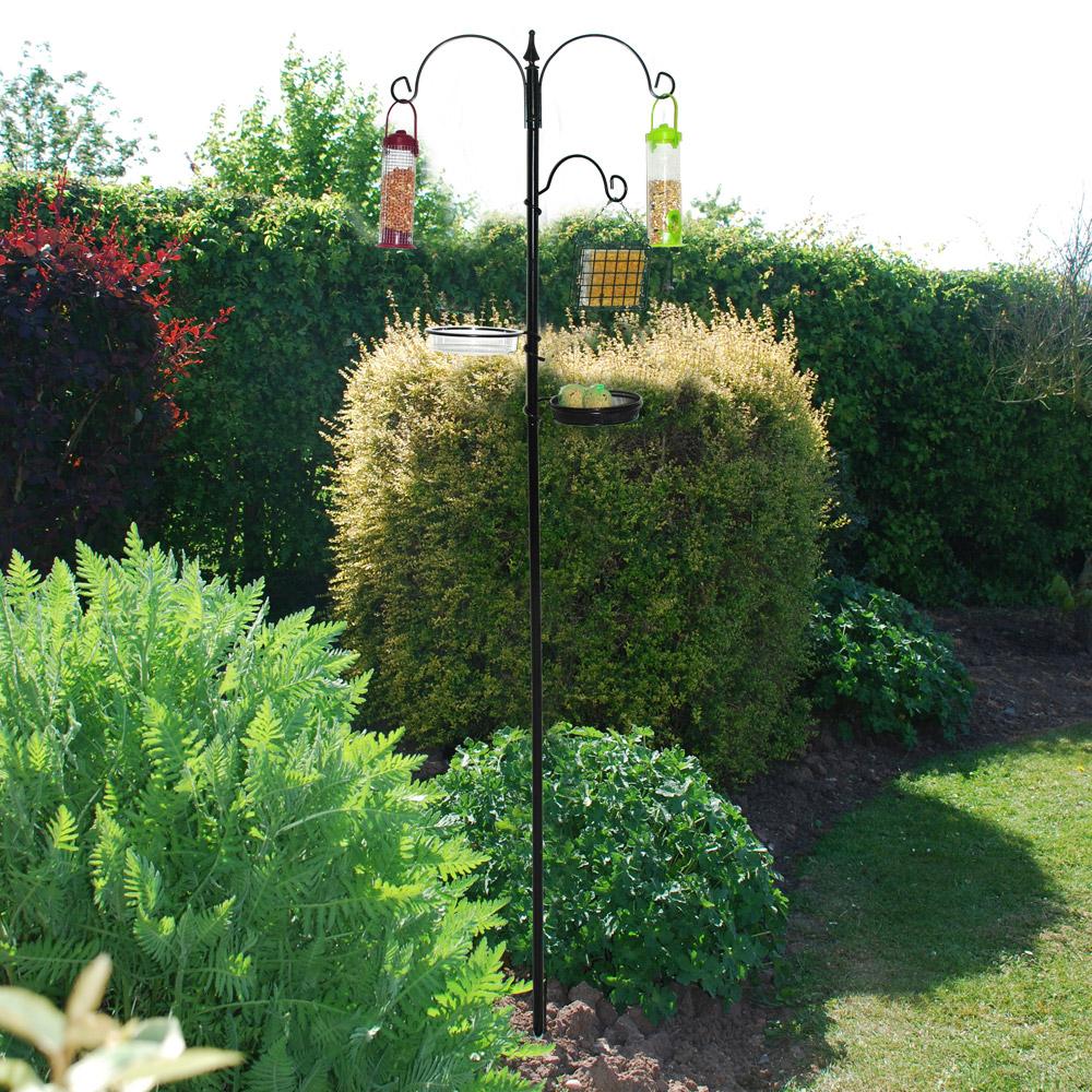 Image of Kingfisher Bird Feeding Station (without feeders)