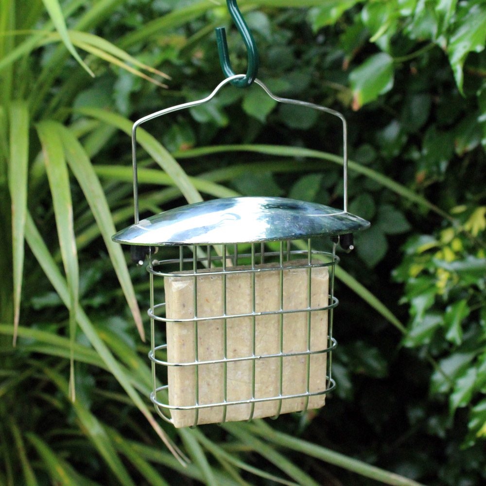 Image of Kingfisher Stainless Steel Suet Cake Feeder