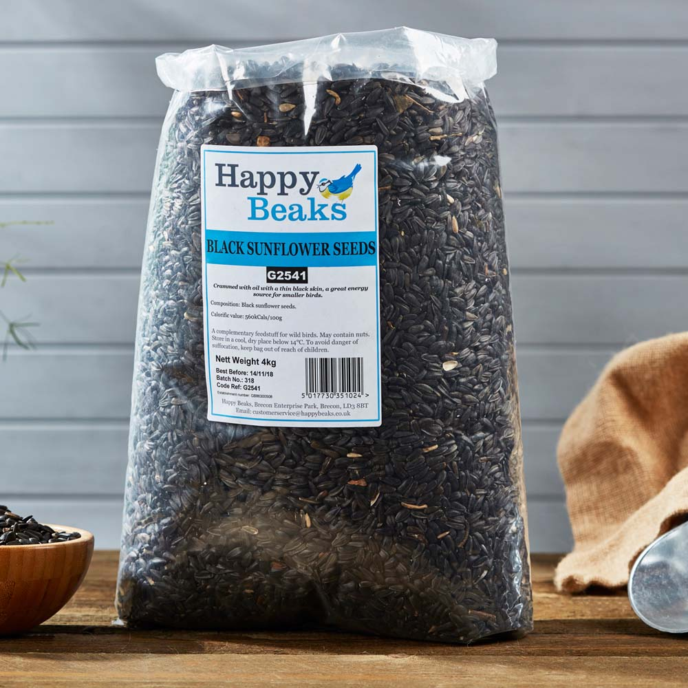 Image of Black Sunflower Seeds