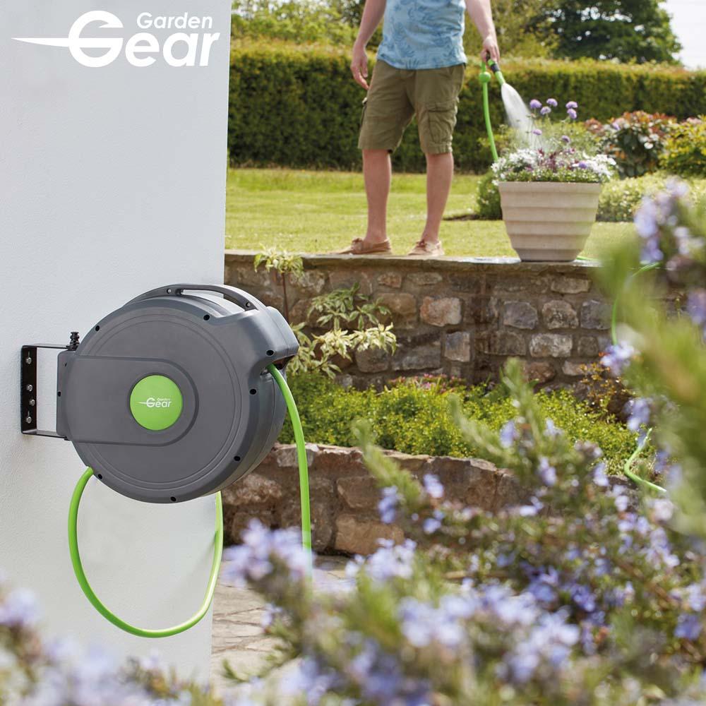 Image of Garden Gear 20m Automatic Rewind Hose