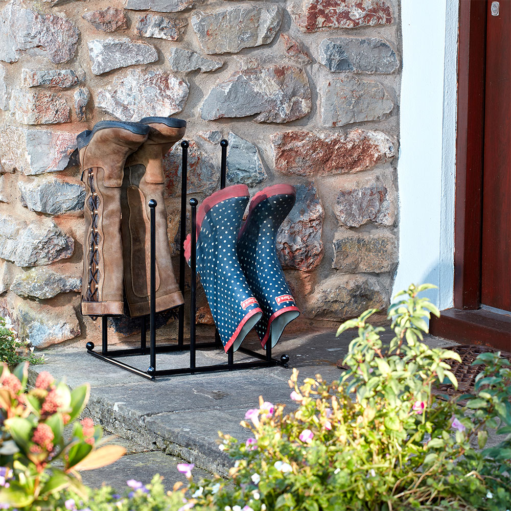 Image of Garden Gear Two-Tier Boot Stand