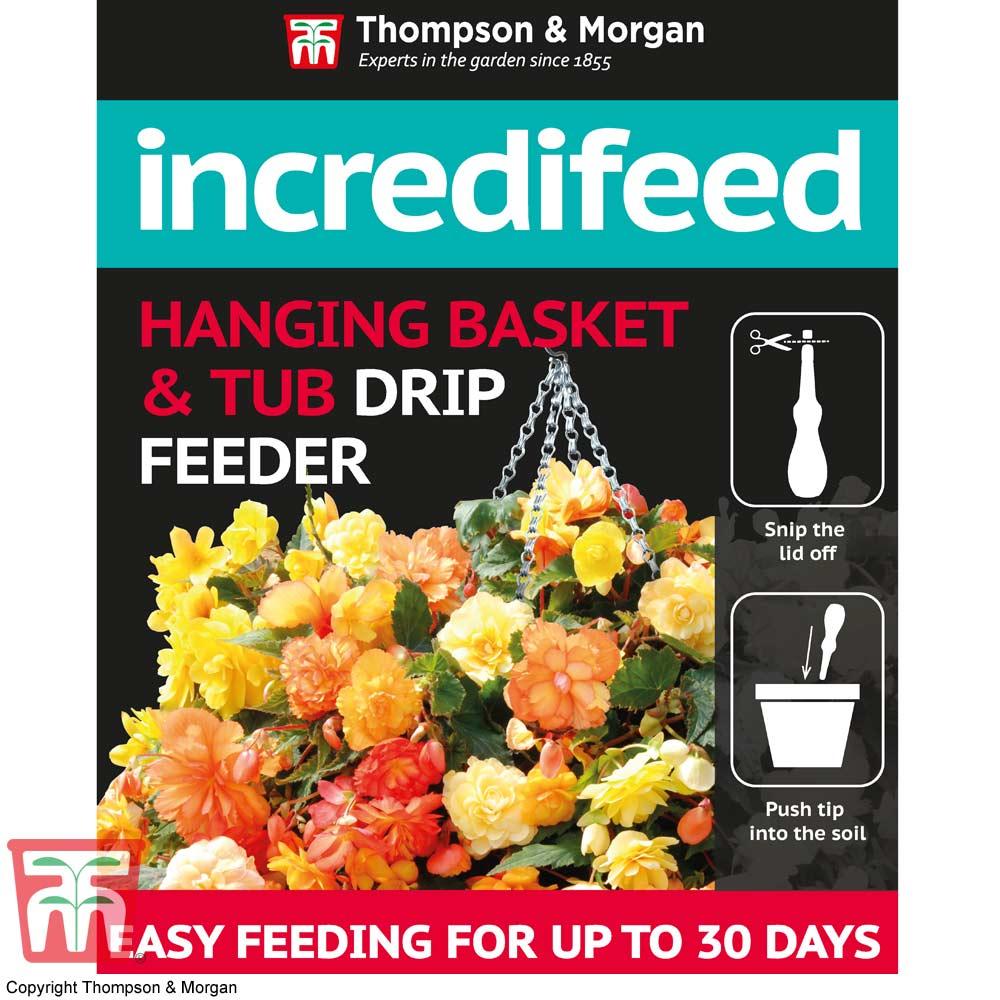 Image of IncrediFeed Hanging Basket & Tub Drip Feeder