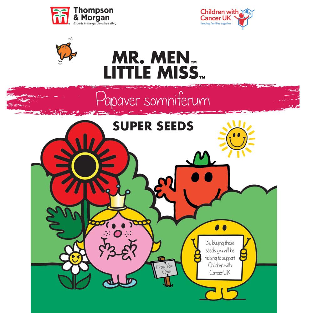 Image of Mr. Men™ Little Miss™ Papaver somniferum