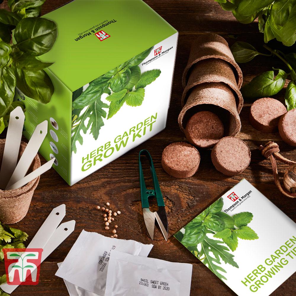 Image of Herb Garden Growing Kit - Gift