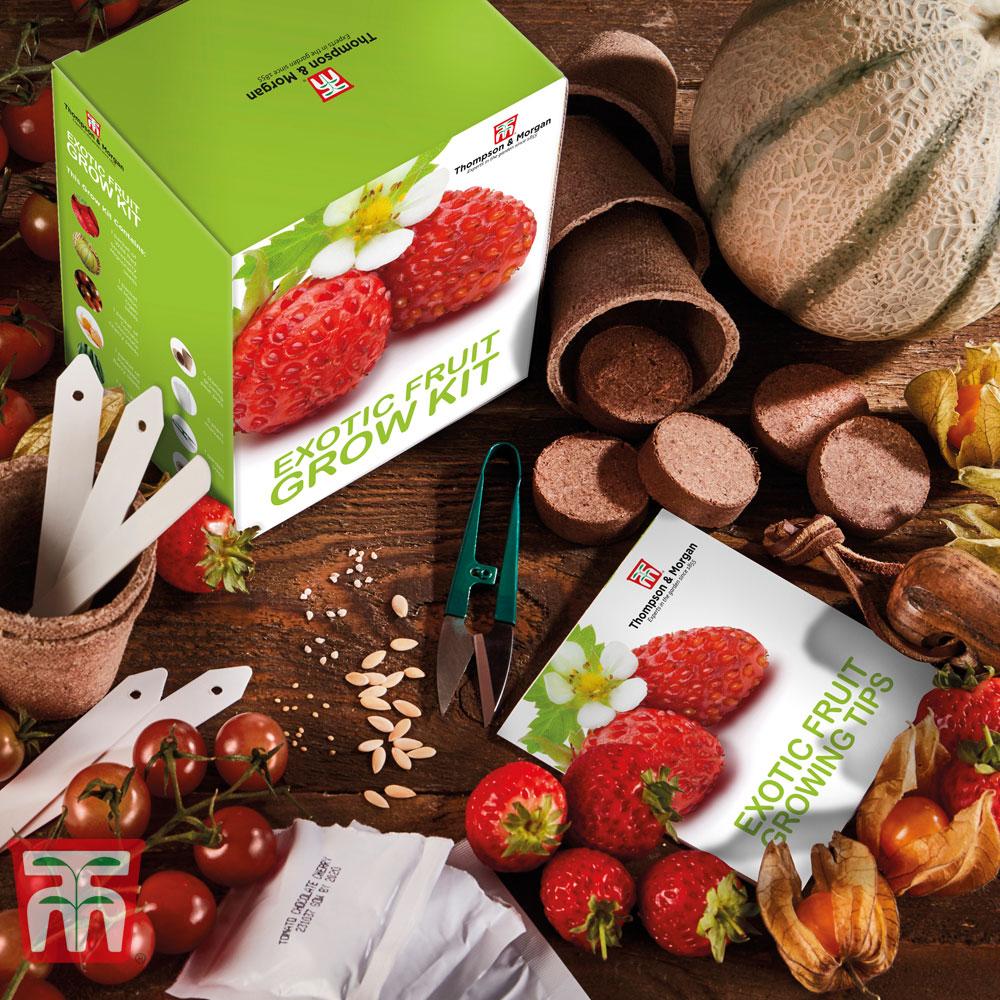 Image of Exotic Fruit Growing Kit - Gift