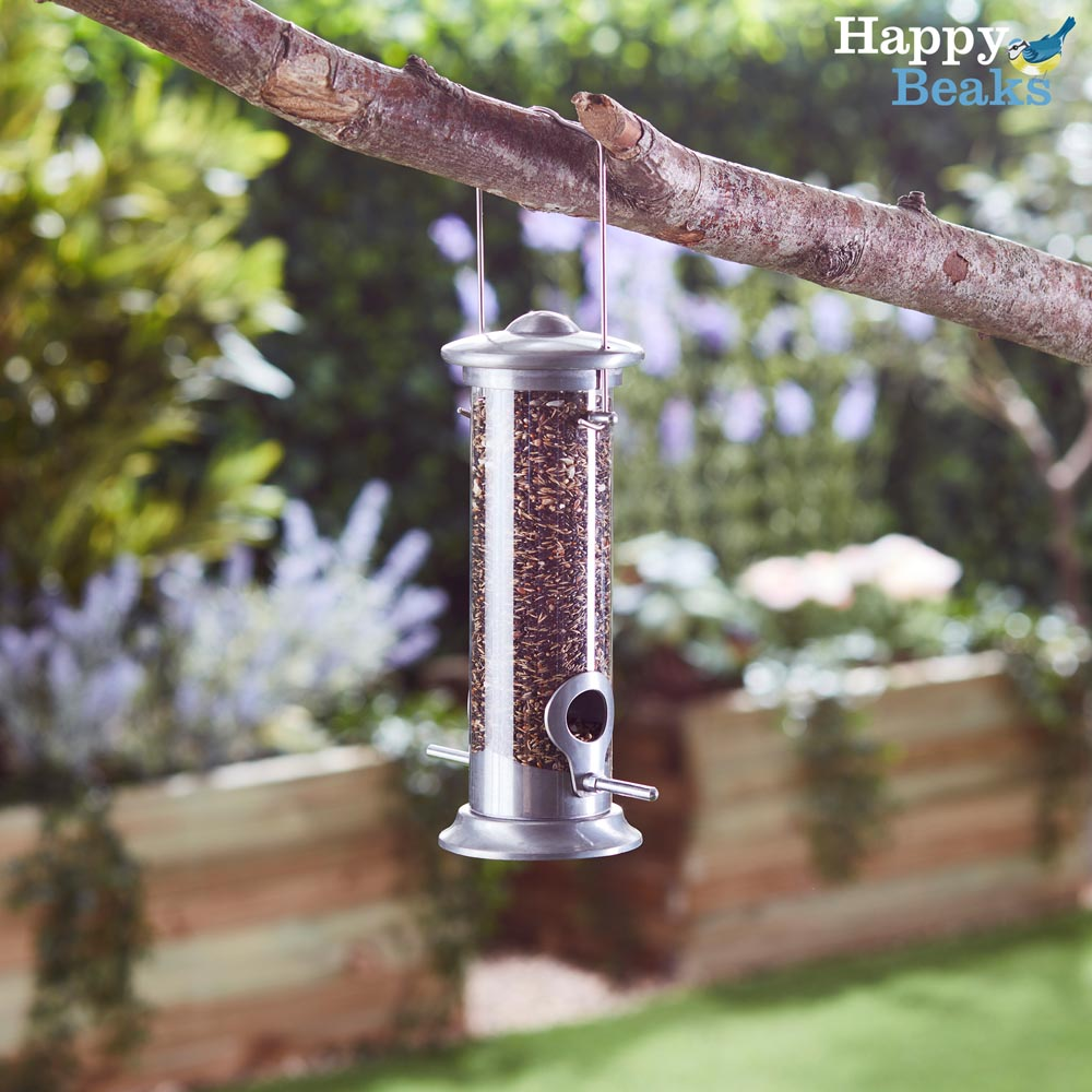 Image of Happy Beaks Aluminium Seed Feeder