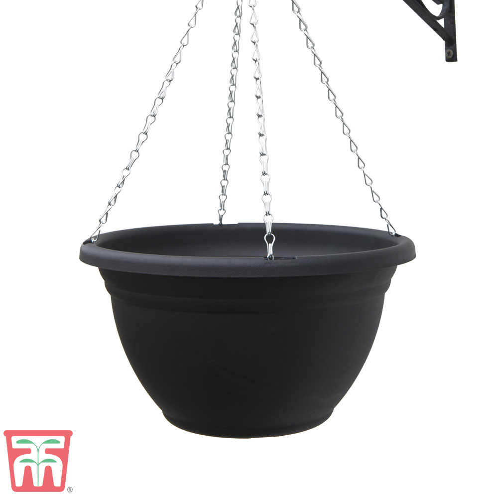 Image of Black Hanging Basket