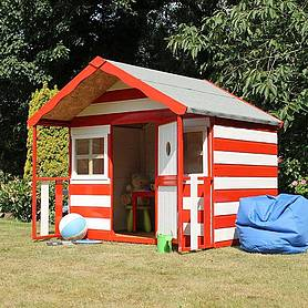 x  waltons honeypot honeysuckle apex wooden playhouse