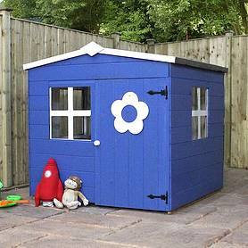 x  waltons honeypot bluebell apex wooden playhouse