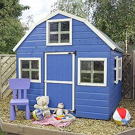 x  waltons honeypot dutch barn wooden playhouse
