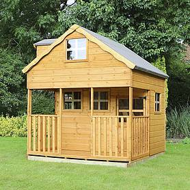 x  waltons honeypot dormer apex wooden playhouse