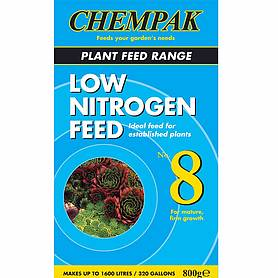 Chempak® Low Nitrogen Feed - Formula 8