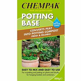 Chempak® Potting Base with Soluwet Wetting Agent