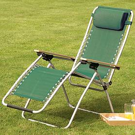 garden gear ultimate zero gravity chair  green