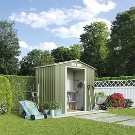 Waltons Apex Metal Shed 7 x 4.2FT