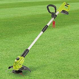 garden gear v cordless lithiumion grass trimmer