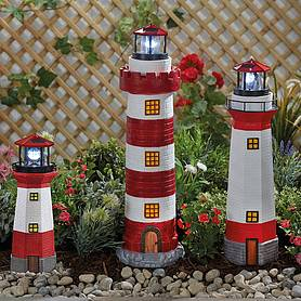 solar lighthouses