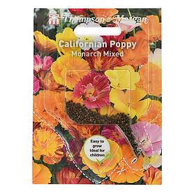 californian poppy monarch mixed sow clear