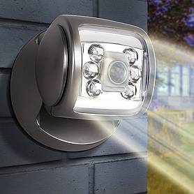 led porch sensor light graphite