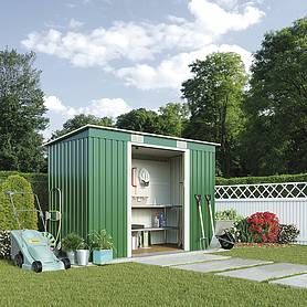 Waltons Pent Metal Shed 6.6 X 3.9ft