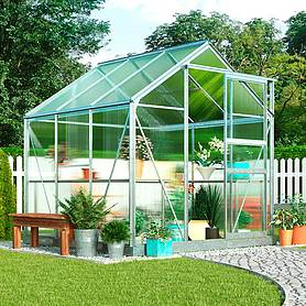 garden grow traditional greenhouse  x  x ft