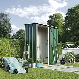 Waltons Compact Pent Metal Shed 4.7'x3.0ft