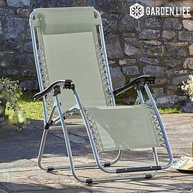 garden gear zero gravity chair  stone