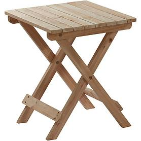 Wooden Adirondack Side Table