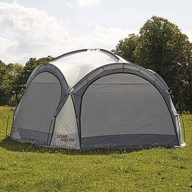 Garden Gear 3.5m Dome Event Shelter with Two Sunshade Walls