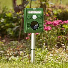 pest xt solar powered ultrasonic flash pest repeller