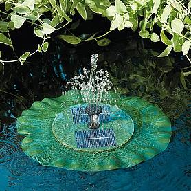 Lily Floating Fountain