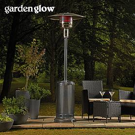 Garden Glow 13kW Gas Patio Heater - Graphite