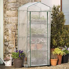garden grow premium portable  tier greenhouse