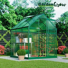 Garden Grow Deluxe Edition Greenhouse 6x6ft