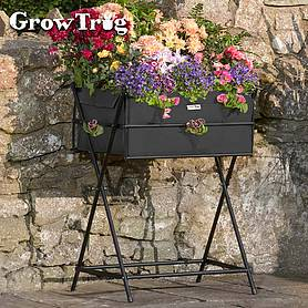 black grow trugreg by bvg group ltd tuscan planter including  of veg seed