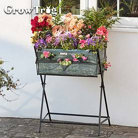 green grow trugreg by bvg group ltd tuscan planter including  of veg seed