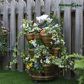 Garden Grow Tiered Planter