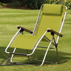 garden gear ultimate zero gravity chair  lime green