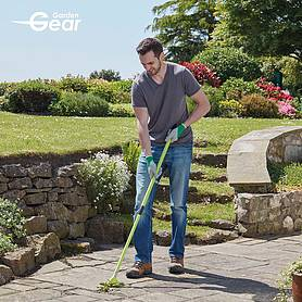 garden gear  in  telescopic brush set